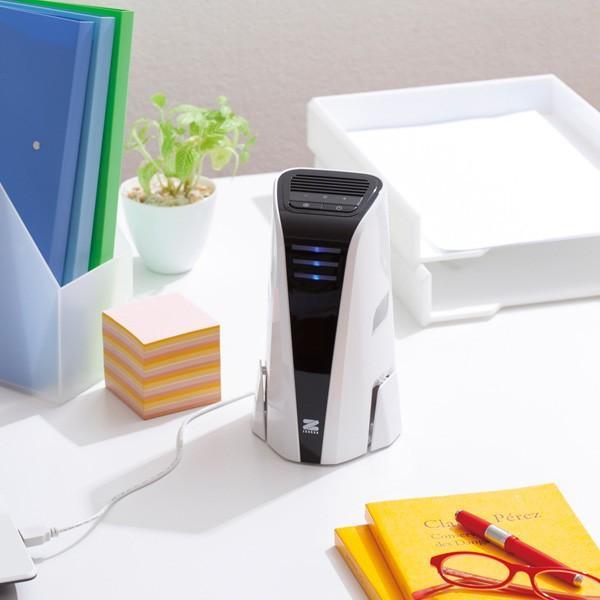 空気清浄機 小型 コンパクト 軽量 USB電源 ゼンケン ミニエア ...