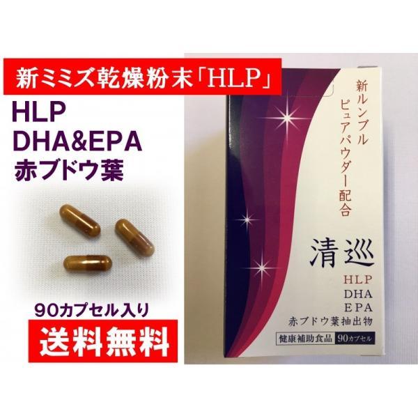 新ミミズ乾燥粉末  HLP  DHA EPA  赤ブドウ葉   ルンブルクスルベルス 清巡 kenkoudou 03