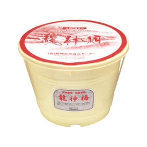 龍神梅(りゅうじんうめ)(4kg樽) ※メーカー直送(同梱・代引・キャンセル不可)