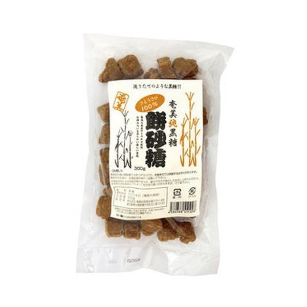 奄美 純黒糖餅砂糖 (300g) 【奄美自然食本舗】