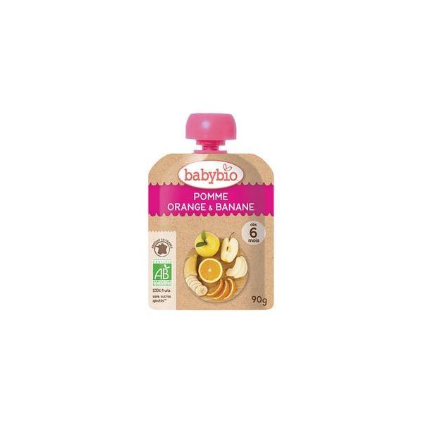 baby bio 有機ベビースムージー アップル・オレンジ・バナナ 90g