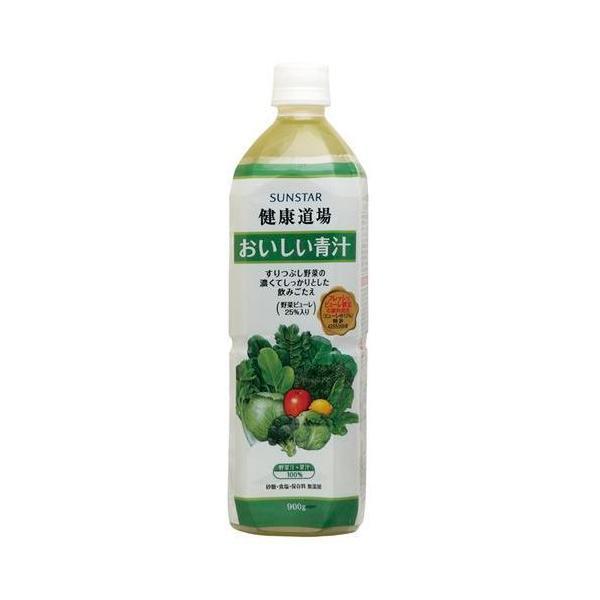 健康道場・おいしい青汁(ペットボトル)900g×6本セット
