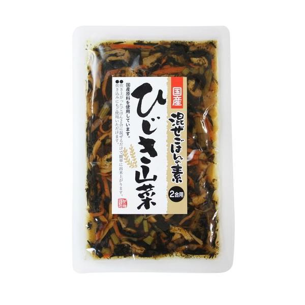 国産ひじき山菜・混ぜごはんの素 110g  【マルアイ】