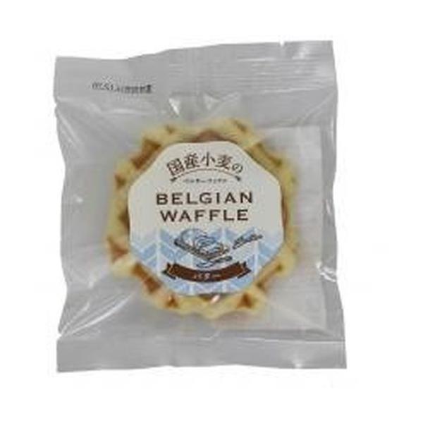 国産小麦のベルギーワッフルバター×6個【ムソー】※キャンセル不可
