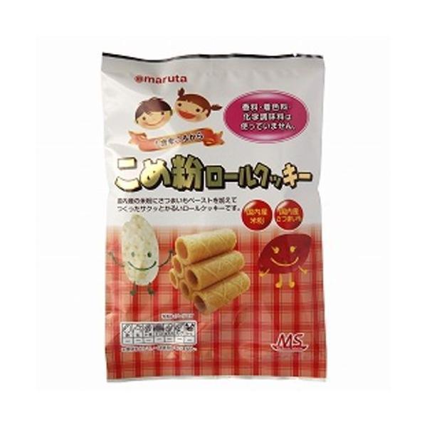 MSこめ粉ロールクッキー(10個入り)×6袋セット 【太田油脂】