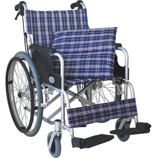 車椅子 軽量 折りたたみ車いす ノーパンクタイヤ仕様 CUYFWC-980 自走用車椅子 アルミ製車イス|kenkul|03