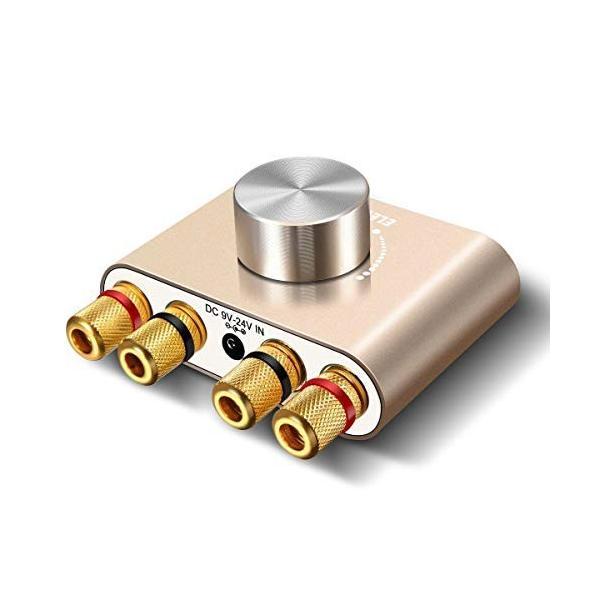 Bluetoothアンプ ELEGIANT ステレオ スピーカー パワーアンプ デジタルアンプ ベース 増幅器 HI-FI 音質 100W 大出力 超