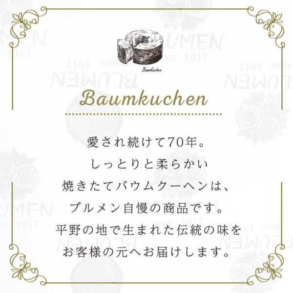 森の宴 バウムクーヘン 美味しい ギフト 個包装 プレーン ホール|kensbaum|05