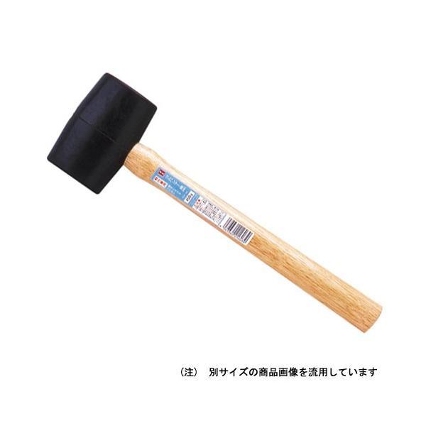 【OH】 ゴムハンマー(黒) 1/2 [GH-S]