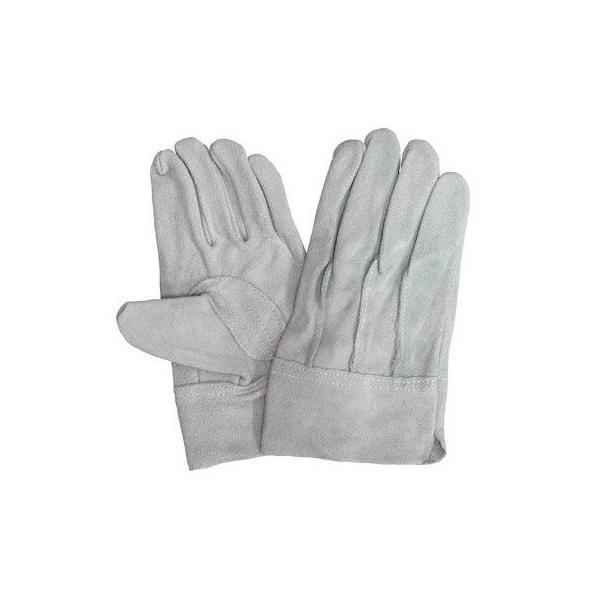 作業用皮手袋(牛床革手袋背縫い)上質皮手袋(皮手/革手)12双