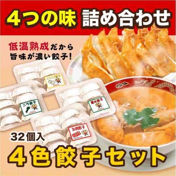 宇都宮餃子館 おみやげ4色餃子セット kentagyozakan