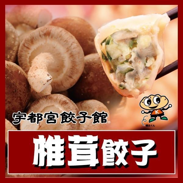 宇都宮餃子館 椎茸餃子|kentagyozakan