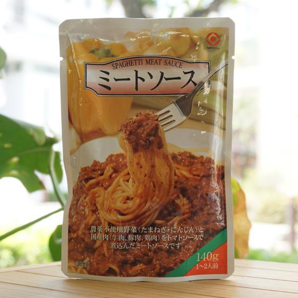 ミートソースレトルト/140g【日本食品工業】