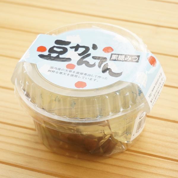 豆かんてん(黒蜜)/155g×12個【大洋】