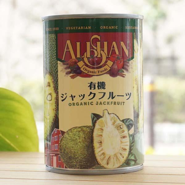 有機ジャックフルーツ(缶)/400g【アリサン】