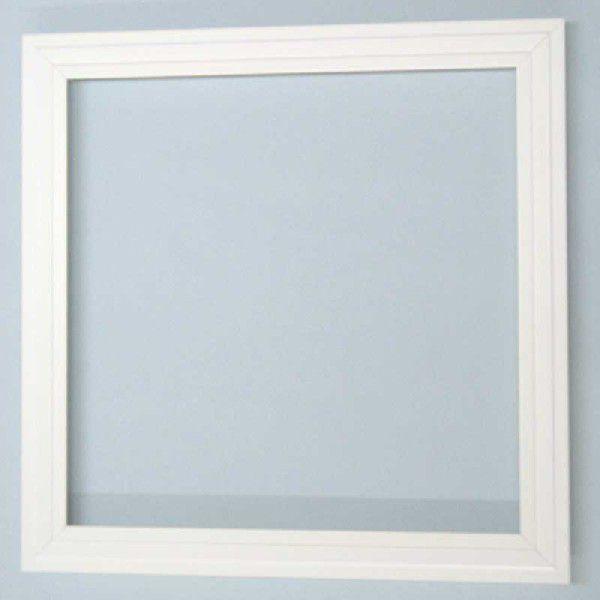 塩ビ樹脂製・点検口枠450角12.5mm用 4台入り  オフホワイト (PVC-12.5)