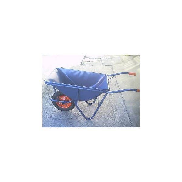 土木工事・農作業に運搬用一輪車(カート車)・3才・深型(猫ネコねこ車)ノーパンクタイヤ仕様激安特価