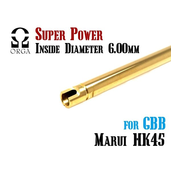 ORGA SUPER POWERバレル マルイ ガスハンドガン用 HK45 オルガ ハイ ...