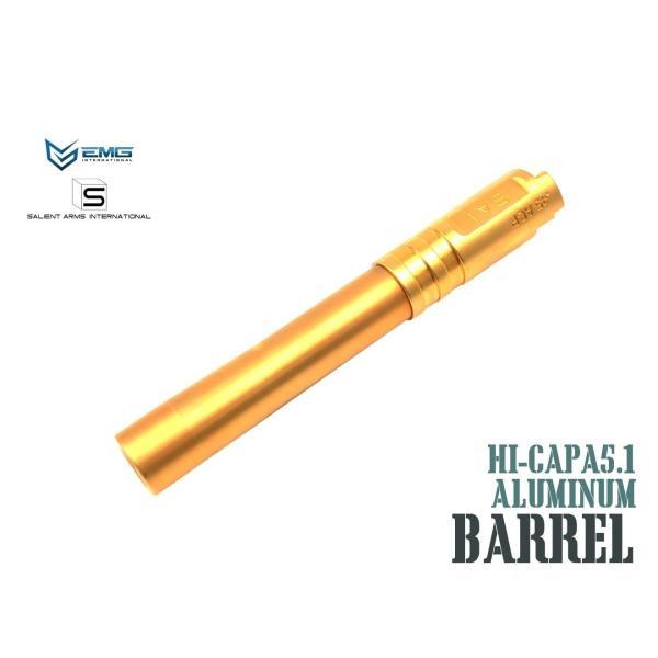 EMG SAI Salient Arms International  BLU アウターバレル For Hi-CAPA 5.1 GOLD サイ HICAPA ハイキャパ
