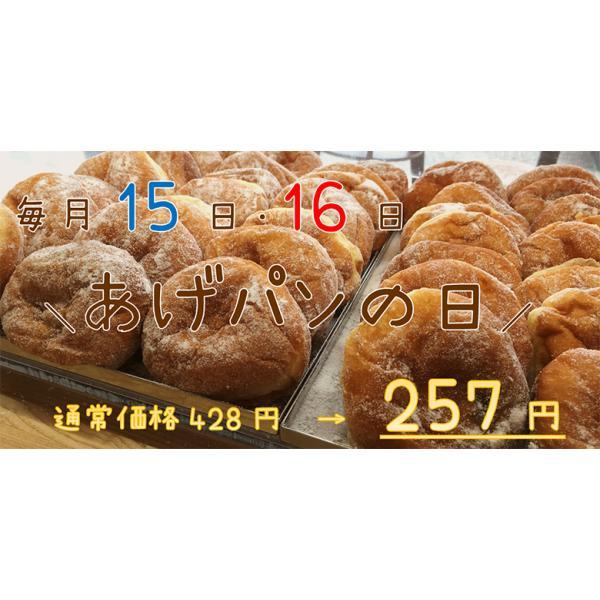 あげぱん (冷凍) (3個入) 紅梅 気仙沼 揚げパン あんぱん こしあん 地元で大人気!|kesennuma-san|05
