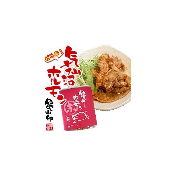 気仙沼ホルモン ピリ辛朝鮮味 【亀山】 (1kg) 豚ホルモン 赤 白 モツ 焼き肉 鍋 レシピ 作り方 お取り寄せ|kesennuma-san|04