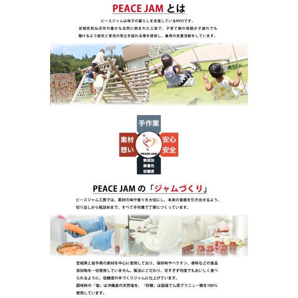 ピースジャムGIFT ミニセット【PEACE JAM】(6個入)気仙沼 ジャム ブルーベリー アップル オレンジ オニオン キャロット トマト|kesennuma-san|02