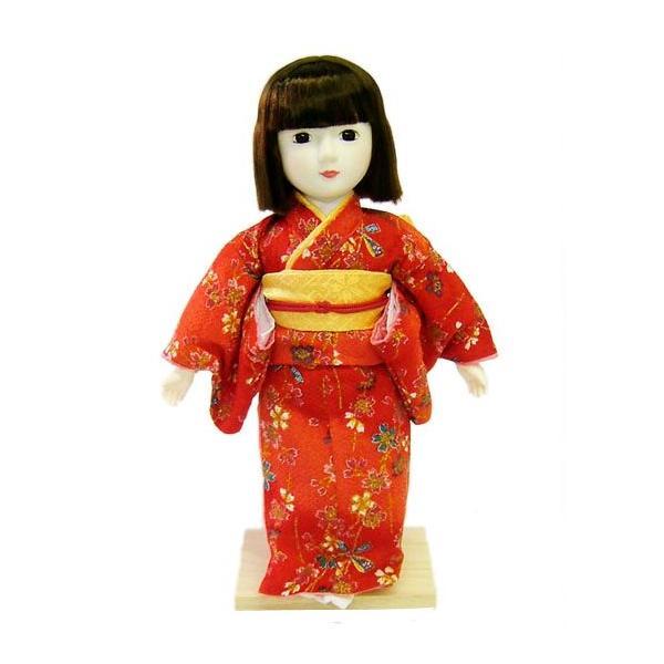 日本人形 夢さくら 赤
