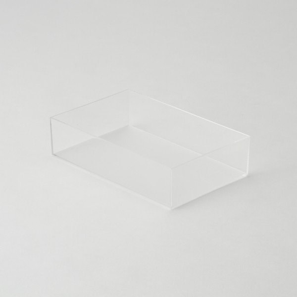 KEYUCA(ケユカ) 収納ボックス 冷蔵庫用 | クリアBOX 140×220mm