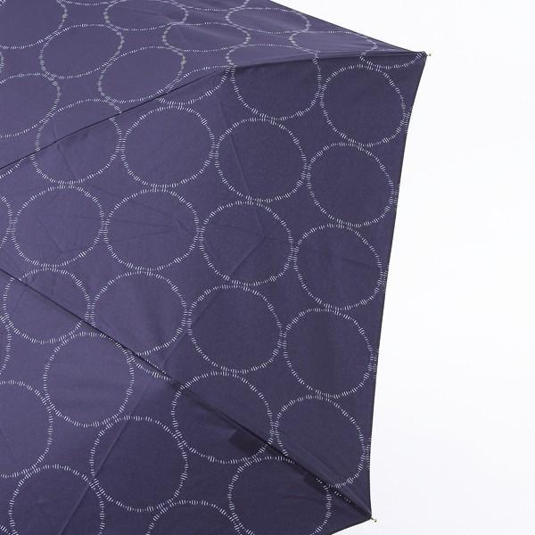 晴雨兼用傘 折りたたみ傘 | 折畳傘 晴雨兼用 スイングリングII ネイビーブルー KEYUCA(ケユカ)