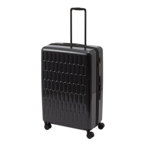キャリーバッグ ラゲージバッグ TSロック ポリカーボネート素材 |Wafleスーツケース 80L ネイビーブルー KEYUCA(ケユカ)