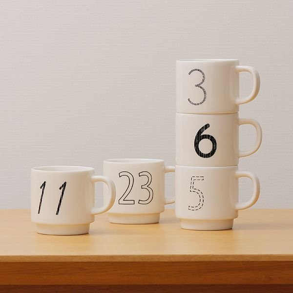 マグカップ コップ ギフト おしゃれ | Date Mug デザインマグカップDate Mug デザインマグカップ KEYUCA(ケユカ)(特別価格)