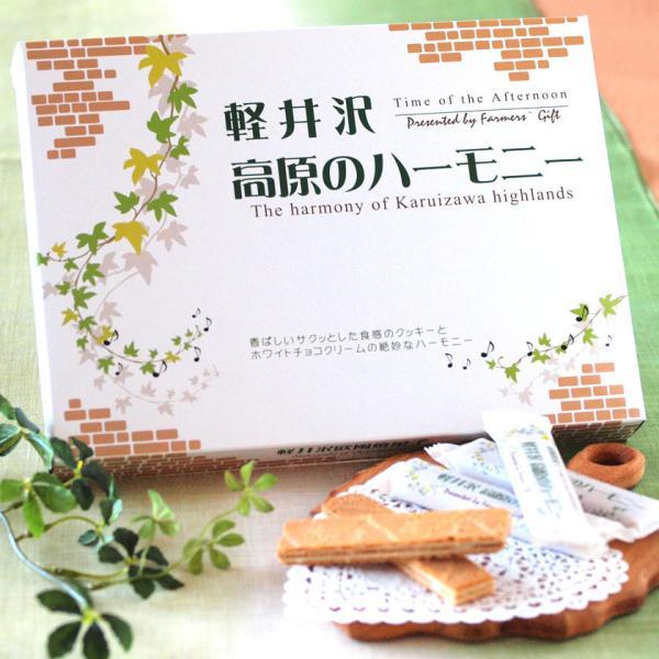 高原のハーモニー18本入  焼き菓子 お土産 箱菓子 プレゼント ティータイム 軽井沢ファーマーズギフト