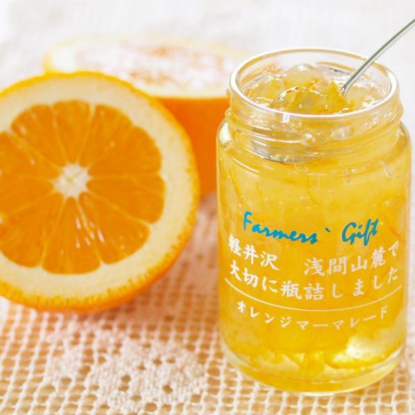 レギュラージャム オレンジマーマレード 140g 愛媛産 国産 プレザーブスタイル 瓶詰 フルーツ トースト 軽井沢ファーマーズギフト