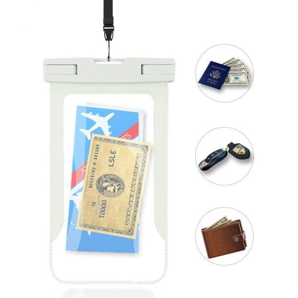 防水ケース iPhone Xperia Aquos 防水 カバー スマホケース アイフォン iPhone8 iPhone7 Xperia XZ2 Aquos R2 iPhoneXs kfstore 06