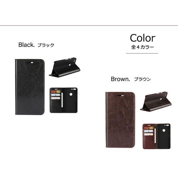 2ca338c4ae ... Pixel 3 ケース 手帳型 Genuine Leather 本革 皮革 google カバー 手帳 ピクセル3 pixel3