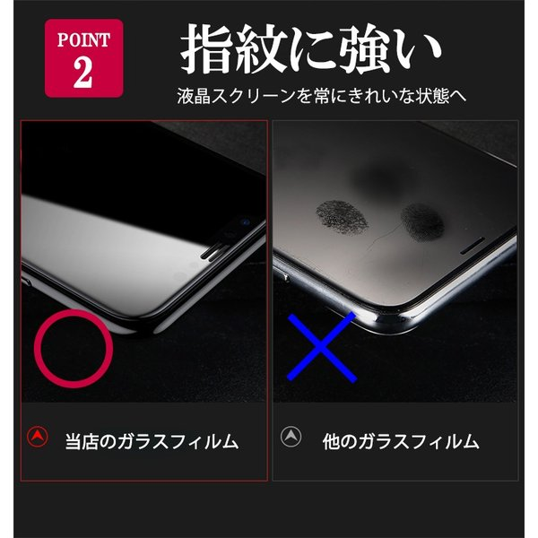 強化ガラスフィルム Xperia XZ3 全面保護フィルム  液晶保護 耐衝撃 フルカバー 硬度 9H エクスペリアXZ3 so01l XperiaXZ3 kfstore 04