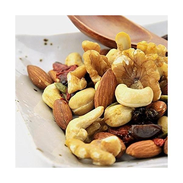 ミックスナッツ & ドライフルーツ 無添加 500g 砂糖不使用 無塩 送料無料