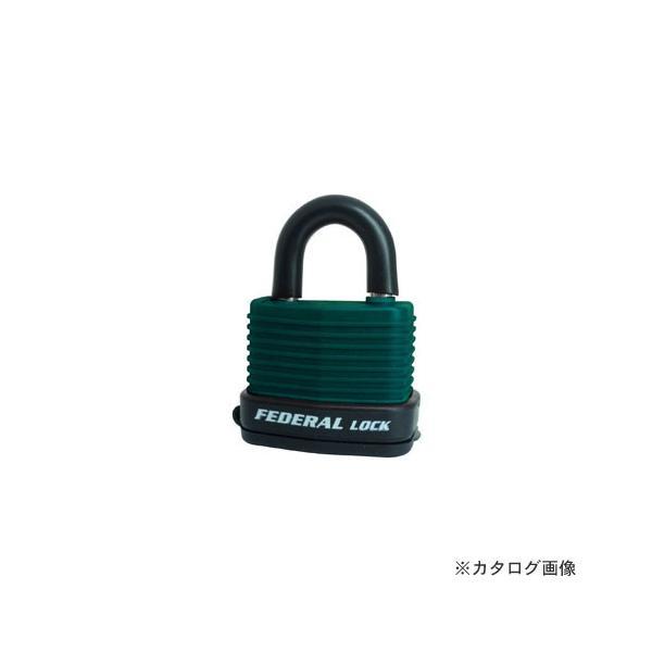 フェデラル FEDERAL RL40W-GN-P ダイヤル鍵 屋外用 グリーン