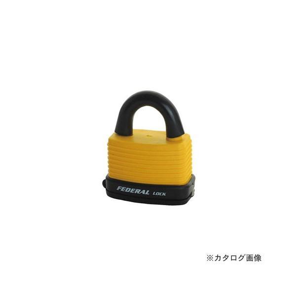 フェデラル FEDERAL RL46W-Y-P ダイヤル錠 屋外用 46mm