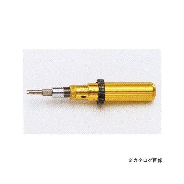タスコ TASCO バルブコア(ムシ)入れ用 アジャスタブルトルクドライバー TA771TD-1