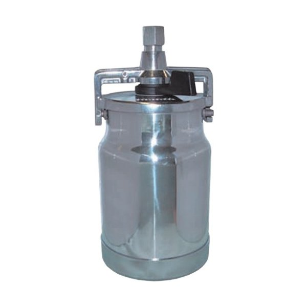 デビルビス 吸上式塗料カップアルミ製レバータイプ(容量1000cc)G3/8 KR-555-1
