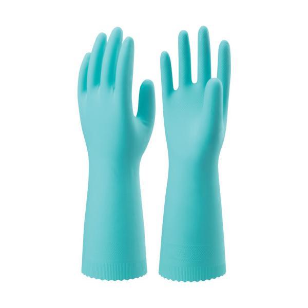 ショーワ ニトリルゴム手袋 ナイスハンドエクストラ中厚手 Lサイズ 緑 NHEXC-LG:GN