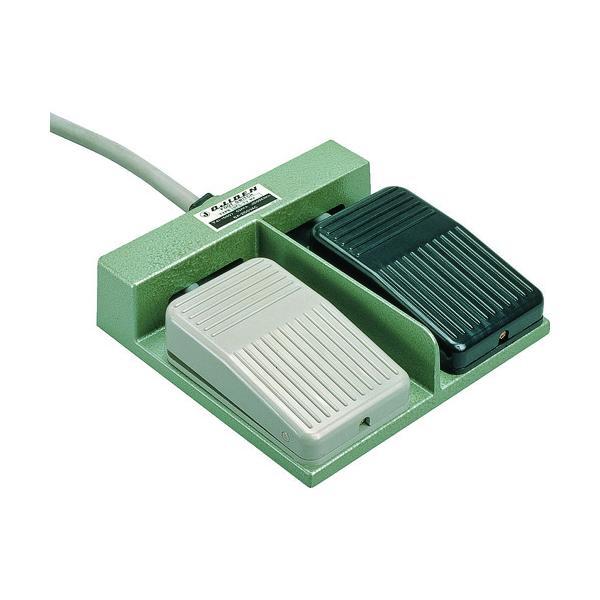 (運賃見積り)(直送品)オジデン フットスイッチ 機器用ミニ形 電気定格3A-250VAC OFL-TV-M4
