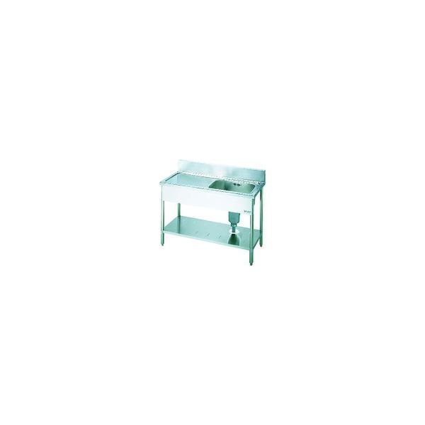 (直送品)LIXIL 一槽水切付流し台 左水槽 1200×600×800 S-1SC120B0B-L
