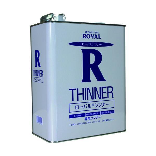 ROVAL 亜鉛メッキ塗料 ローバルシンナー 1L缶 RT-1L