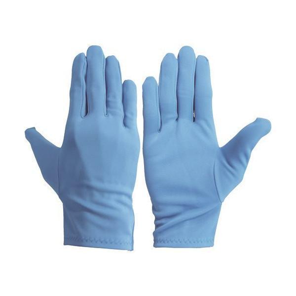 ウインセス カラーナイロン手袋 サックス SS (10双入) 8010-1-C4-SS