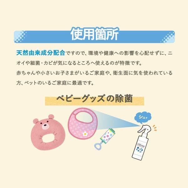 【在庫あり】即納 日本製 FABミスト 除菌スプレー 300ml 天然由来成分 赤ちゃん ウイルス対策 マスクの除菌|kgo|06