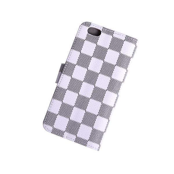 1c5087ccbf ... iPhone6 ケース手帳型ブランドチェック柄お洒落で便利なiPhoneケース(ホワイト) ...