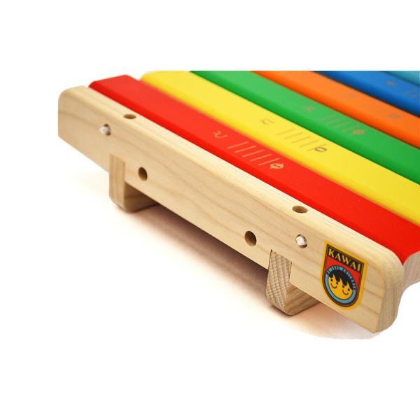 KAWAI 木のおもちゃ 9016 シロホン クマ 日本製 木琴 出産祝いのギフトに 誕生日プレゼントに クリスマスプレゼントに|kiarl|02