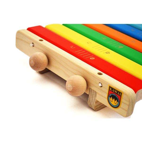 KAWAI 木のおもちゃ 9016 シロホン クマ 日本製 木琴 出産祝いのギフトに 誕生日プレゼントに クリスマスプレゼントに|kiarl|03